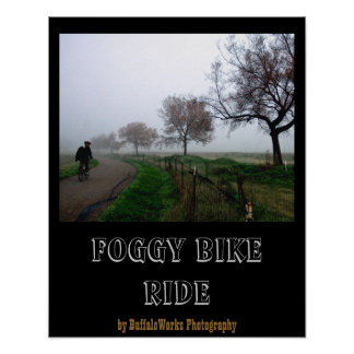 Foggy Rider Poster