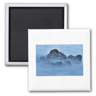 foggy rock 16x10 2 inch square magnet