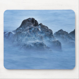 foggy rock 16x10 mouse pad