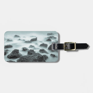 Foggy Rocks Tag For Luggage