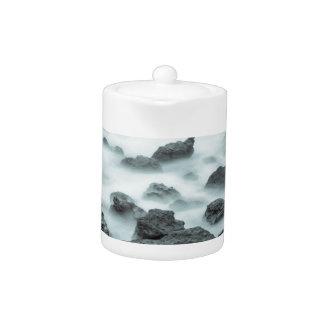 Foggy Rocks Teapot