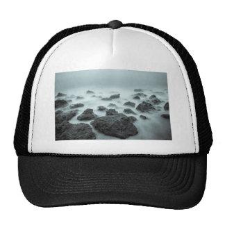 Foggy Rocks Trucker Hat