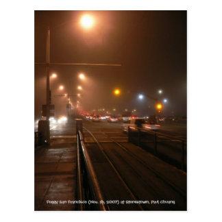 Foggy San Francisco... Postcard