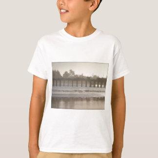 Foggy Santa Cruz Wharf T-Shirt
