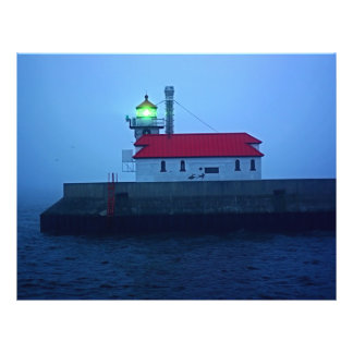 Foggy South Pier Lighthouse Flyers