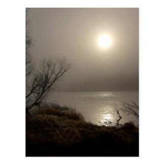 Foggy Sunrise.jpg Postcard