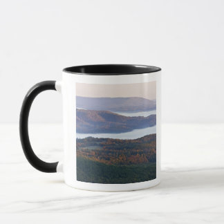 Foggy valleys and fall foliage in Ozark Mug