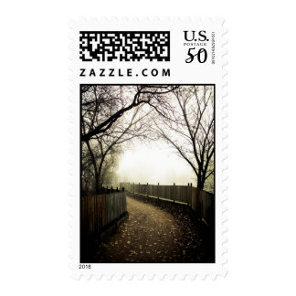 Foggy Waterfront 01 Postage