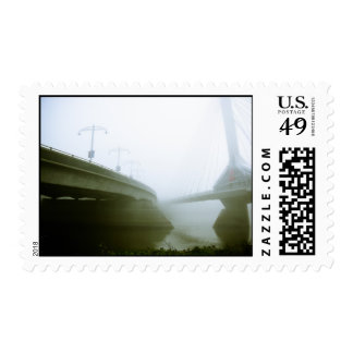 Foggy Waterfront 02 Postage