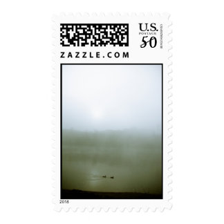Foggy Waterfront 07 Postage