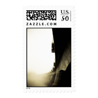 Foggy Waterfront 11 Postage