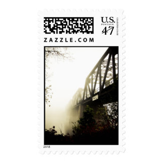 Foggy Waterfront 13 Postage