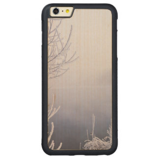 Foggy Winter Day by the River Carved Maple iPhone 6 Plus Bumper Case