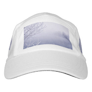 Foggy Winter Day by the River Headsweats Hat