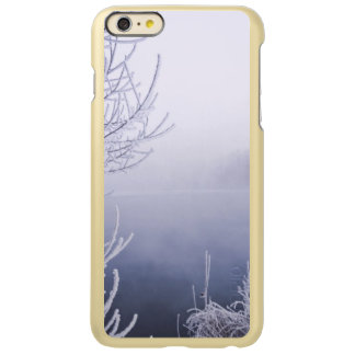 Foggy Winter Day by the River Incipio Feather Shine iPhone 6 Plus Case