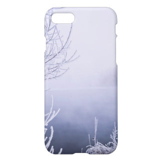 Foggy Winter Day by the River iPhone 7 Case