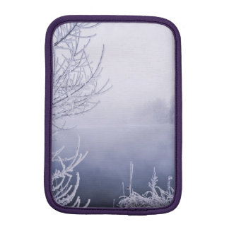 Foggy Winter Day by the River Sleeve For iPad Mini