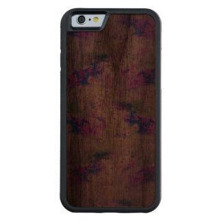Foggy with a Chance of Hope Carved Walnut iPhone 6 Bumper Case