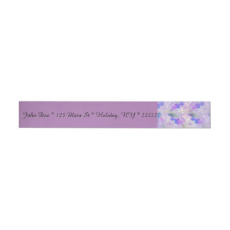 Foggy with a Chance of Hope Wraparound Address Label