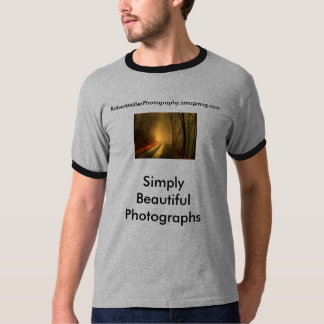 foggy wood, Simply Beautiful Photographs, Rober... T Shirt