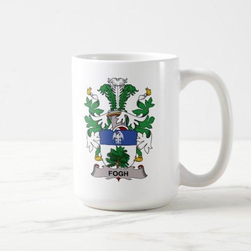 Fogh Family Crest Classic White Coffee Mug