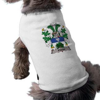 Fogh Family Crest Dog Tee Shirt