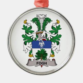 Fogh Family Crest Christmas Tree Ornaments