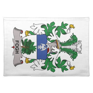 Fogh Family Crest Placemats