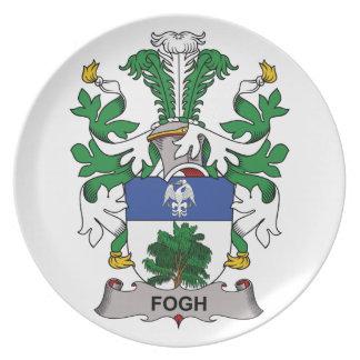 Fogh Family Crest Plate