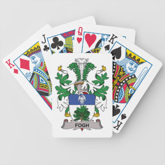 Fogh Family Crest Bicycle Playing Cards