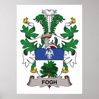Fogh Family Crest Print