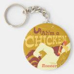 Foghorn Ah'm a chicken Key Chains