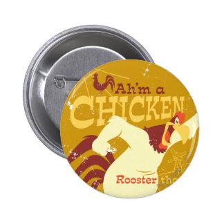 Foghorn Ah'm a chicken Pinback Button
