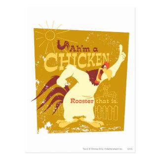 Foghorn Ah'm a chicken Post Card