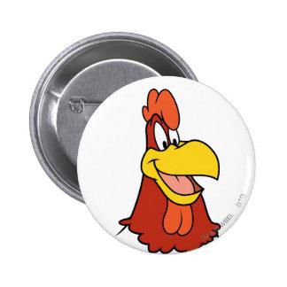 Foghorn Leghorn Closeup Button