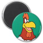 Foghorn Leghorn Closeup Refrigerator Magnets
