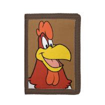 Foghorn Leghorn Closeup Tri-fold Wallet