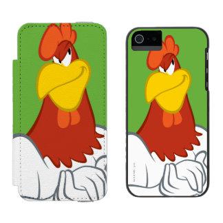 Foghorn Leghorn | Mischievous Stare iPhone SE/5/5s Wallet Case