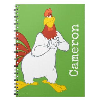 Foghorn Leghorn   Mischievous Stare Notebook