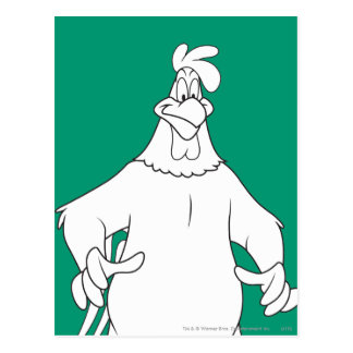 Foghorn Leghorn Standing Pose Post Card