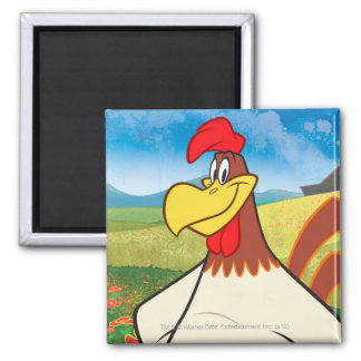 Foghorn Standing 2 Inch Square Magnet