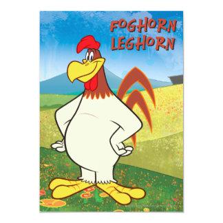 Foghorn Standing 5x7 Paper Invitation Card