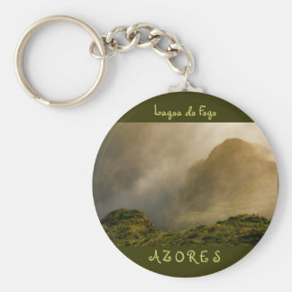 Fogo crater, Azores Keychain