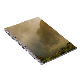 Fogo crater, Azores Notebook
