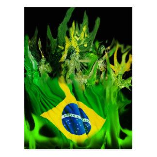 Fogo del Brasil Postales