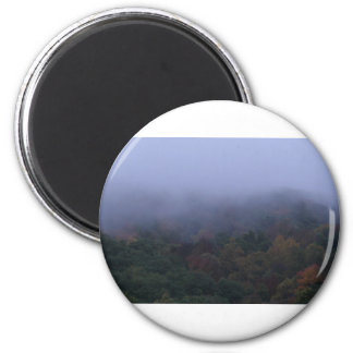 fogy morning 2 inch round magnet