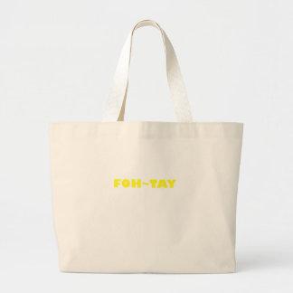 Foh-Tay Bolsa Tela Grande