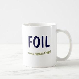 FOIL: Keeps Algebra Fresh! Coffee Mugs