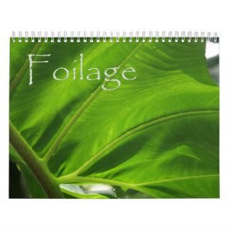 Foilage Calendar