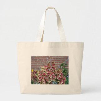 Foilage Plant Canvas Bag